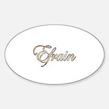 Unique Efrain Sticker (Oval)