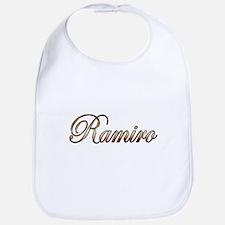 Gold Ramiro Bib
