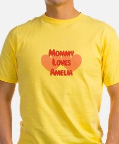 Mommy Loves Amelia T-Shirt