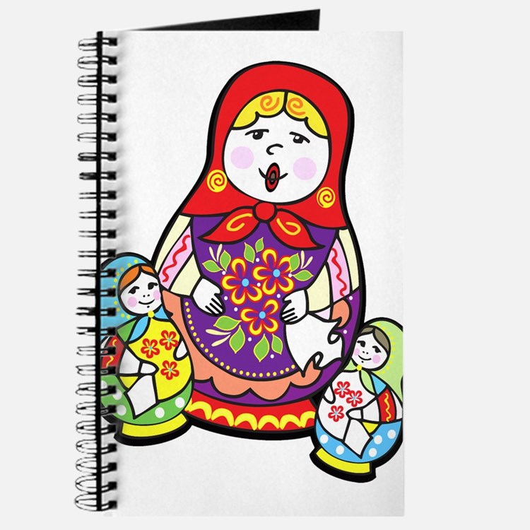 Nesting Dolls Journal