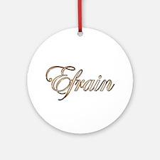 Unique Efrain Round Ornament