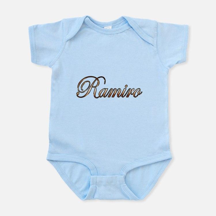 Gold Ramiro Body Suit