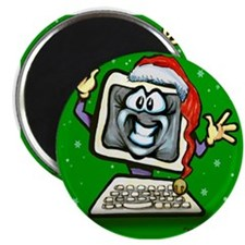"""Cute Holiday party 2.25"""" Magnet (10 pack)"""