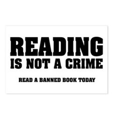 Reading is Not a Crime Postcards (Package of 8)