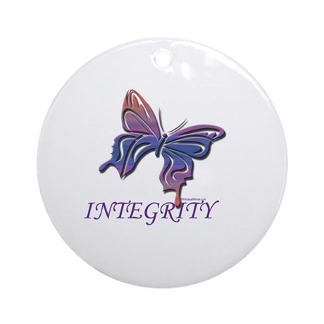INTEGRITY Ornament (Round)