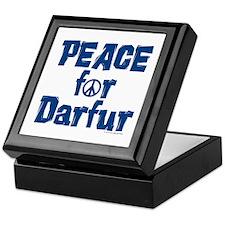 Peace For Darfur 1.3 Keepsake Box