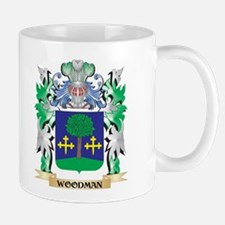Woodman Coat of Arms - Family Crest Mugs
