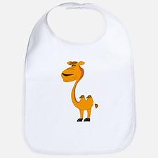 Yellow camel cartoon Bib