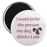 Dog Round Magnets