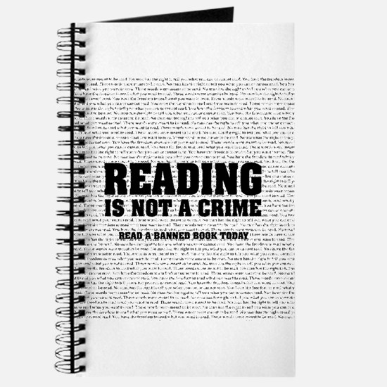 Reading is Not a Crime Journal