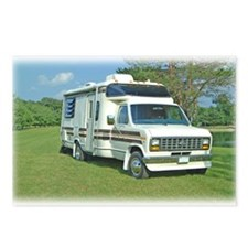 Campers Postcards (Package of 8)