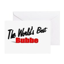 """The World's Best Bubbe"" Greeting Card"
