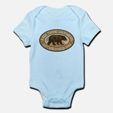 Lake Tahoe Brown Bear Badge Body Suit