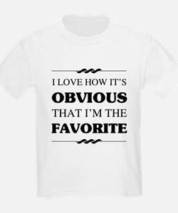 Favorite Sibling Humor T-Shirt