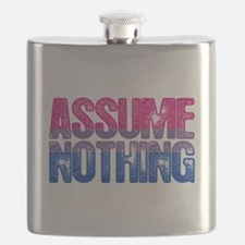 Bisexual Assume Nothing Flask
