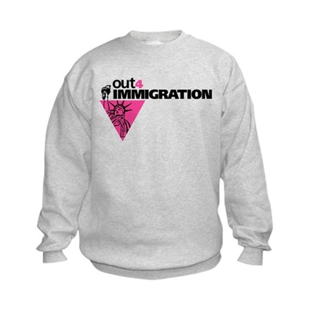 Out4Immigration Kids Sweatshirt