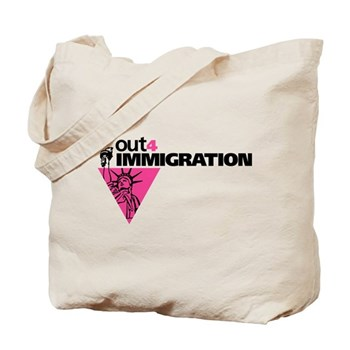 Out4Immigration Tote Bag