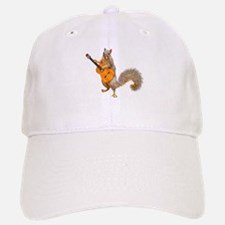 Squirrel Acoustic Guitar Baseball Baseball Baseball Cap