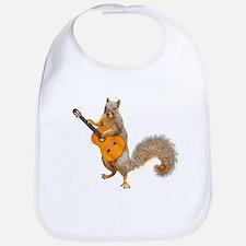 Squirrel Acoustic Guitar Bib
