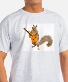 Squirrel Acoustic Guitar T-Shirt