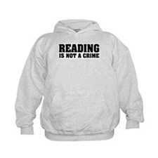 Reading is Not a Crime Hoodie
