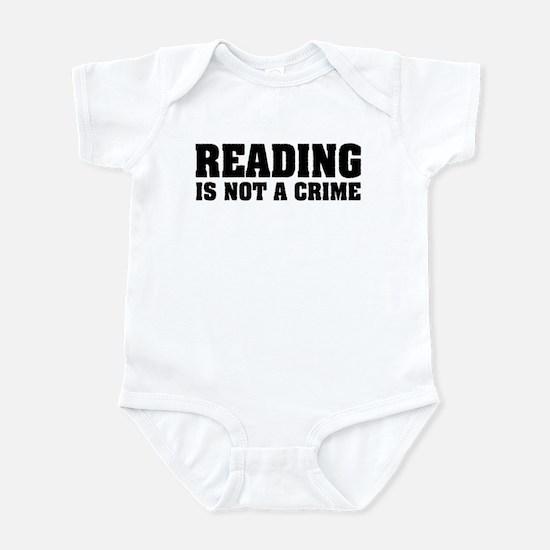 Reading is Not a Crime Infant Bodysuit