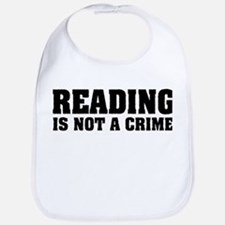 Reading is Not a Crime Bib