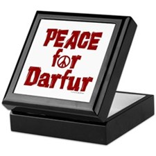 Peace For Darfur 1.4 Keepsake Box