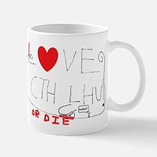 Love Cthulhu (Or Die) Mugs