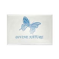 DIVINE NATURE Rectangle Magnet