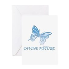 DIVINE NATURE Greeting Card