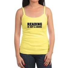 Reading is Not a Crime Jr.Spaghetti Strap