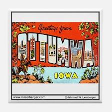 Greetings Tile Coaster
