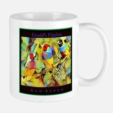 Goulds Finches Mugs