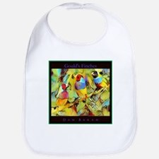 Goulds Finches Bib