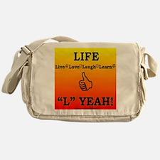 L YEAH! Messenger Bag