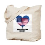 BUY AMERICAN PRODUCTS Tote Bag