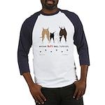 Nothin' Butt Bull Terriers Baseball Jersey