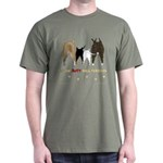 Nothin' Butt Bull Terriers Dark T-Shirt