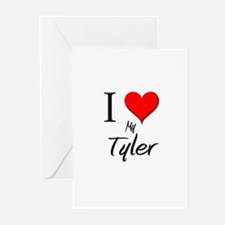 I Love My Tyler Greeting Cards (Pk of 10)
