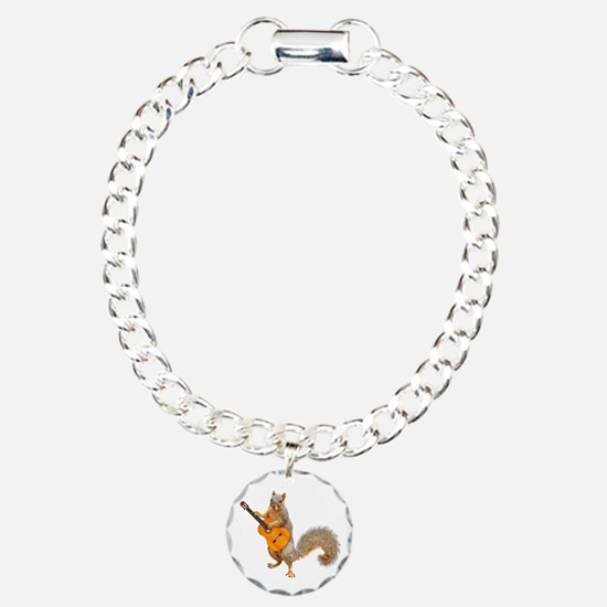Squirrel Acoustic Guitar Bracelet