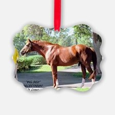 "Secretariat ""Big Red"" Ornament"