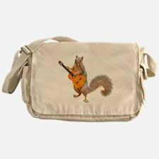 Squirrel Acoustic Guitar Messenger Bag
