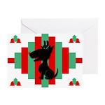 Bull Terrier Christmas Cards (Pk of 10)