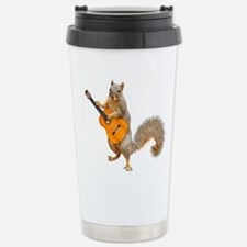 Squirrel Acoustic Guitar Travel Mug