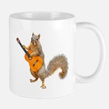 Squirrel Acoustic Guitar Mugs
