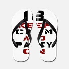 18 Keep Calm And Party On Flip Flops