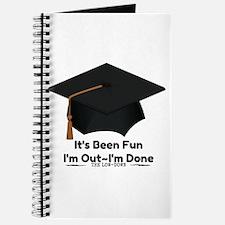 Graduate Done Journal
