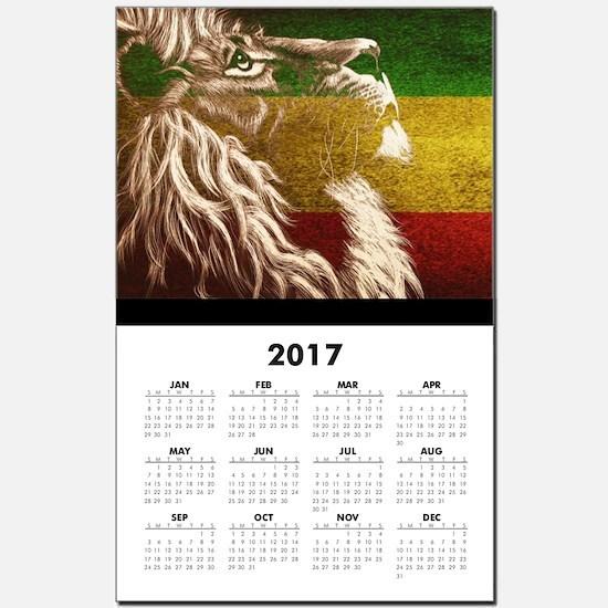 King Of Judah Calendar Print