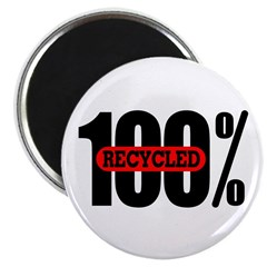 100 Percent Recycled Magnet